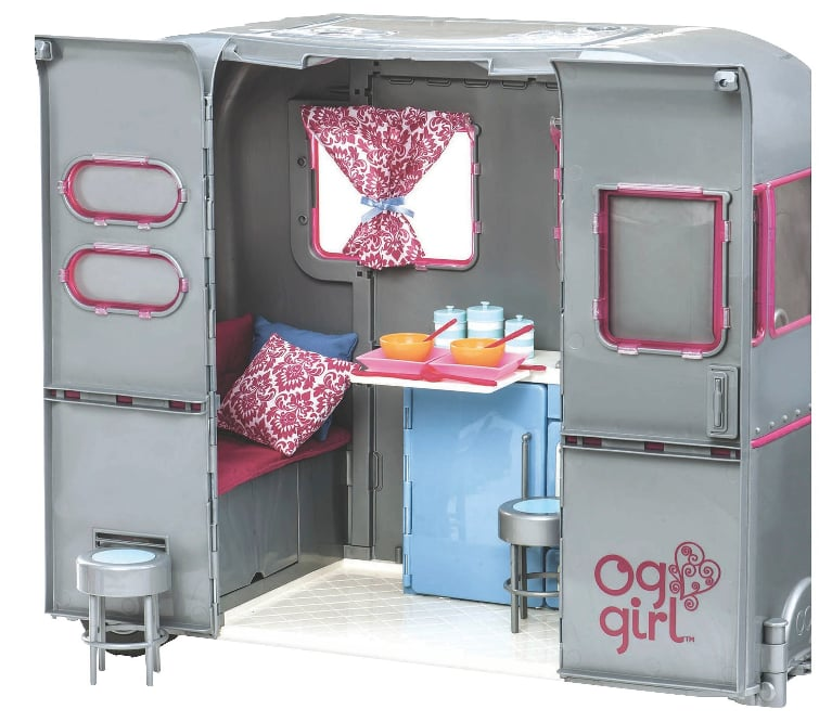 For 4-Year-Olds: Our Generation RV Seeing You Camper