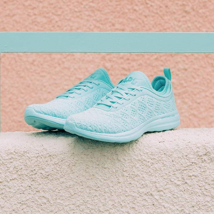 11 Aqua Sneakers That Will Make You Feel Anything but Blue