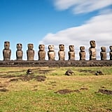 See the Moais in Easter Island, Chile