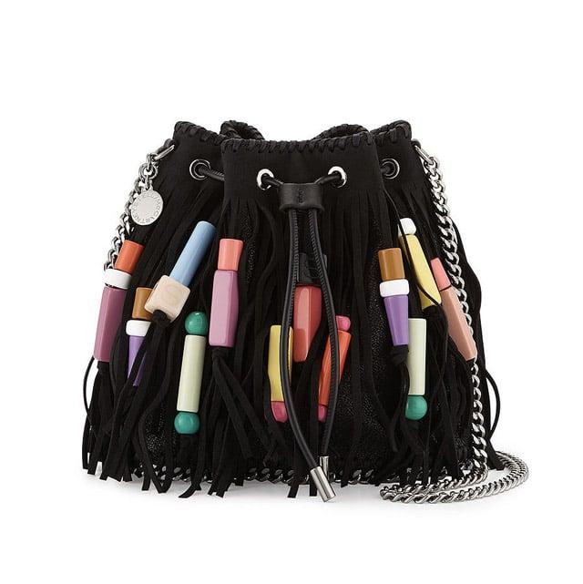 3e8e3a7e0c94 Stella McCartney  Falabella  Fringe Bead Bucket Bag ( 1