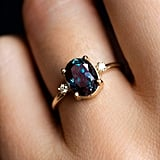 Ovals: Oval Alexandrite Ring