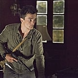 Homeland Rupert Friend on the season premiere of Homeland, airing Sept. 29 on Showtime.
