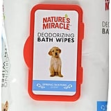 Nature's Miracle Deodorizing Bath Wipes
