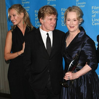 Robert Redford and Uma Thurman Honor Meryl Streep
