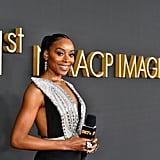 Erica Ash at the 2020 NAACP Image Awards