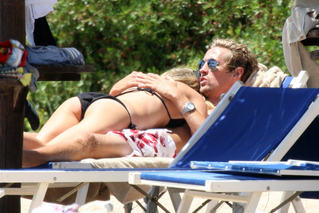 PIcures of Abbey Clancy and Peter Crouch
