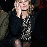 Kate Moss at Paris Fashion Week February 2018