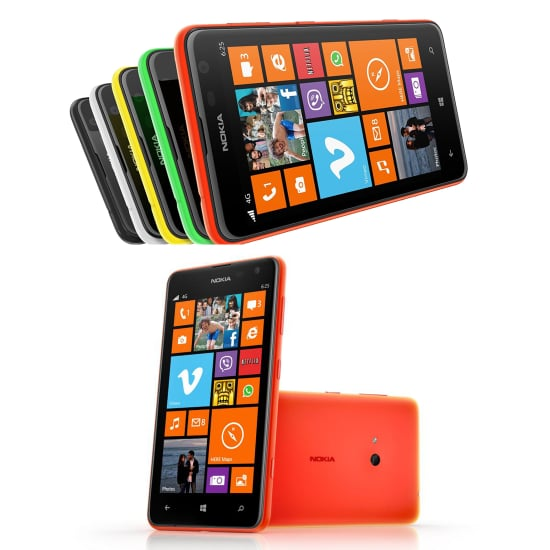 Nokia Lumia 625: Colorful Beginner Giant With LTE