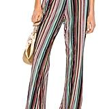 Camila Coelho Jaggar Pant in Multi Stripe