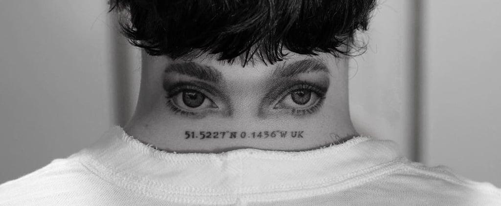 Brooklyn Beckham Gets Neck Tattoo of Nicola Peltz's Eyes