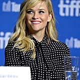 Reese Witherspoon looked cute at a press conference for Wild.