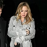 Pregnant Kate Hudson Dines Out With Goldie and Kurt Amid Engagement Speculation