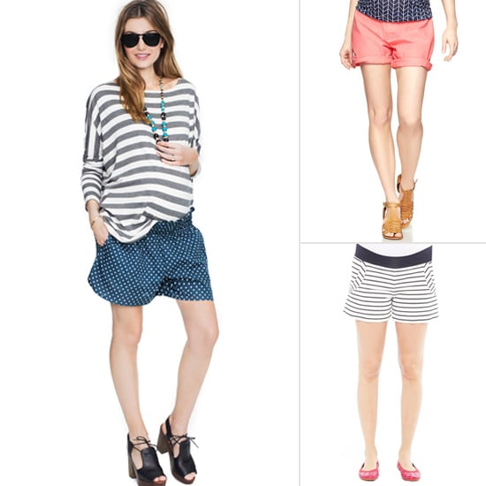 7 Pairs of Fab, Flattering Shorts For Moms-to-Be
