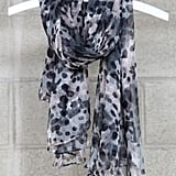 "The delicate ""droplets"" reminds us of Jason Wu's Spring '12 collection. Mikkat Market Silk Scarf 17 ($44)"