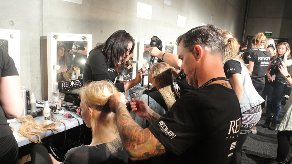 """[Ginger & Smart] design a collection around that place where the masculine and the feminine intercept. For me, when I'm designing hair, I'm trying to find that edge between cool but still effortless – with a slight toughness to it,"" says Redken's Richard Kavanagh."