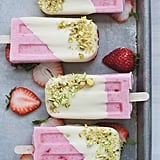 Strawberry Cream Lollies