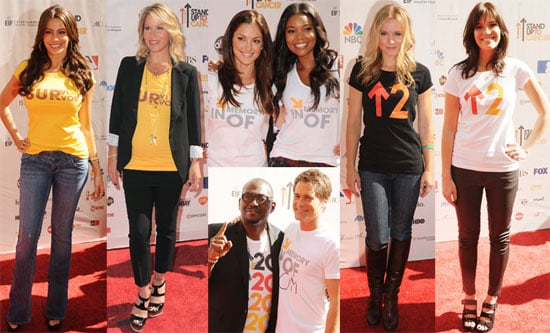 Pictures From Stand Up To Cancer Event