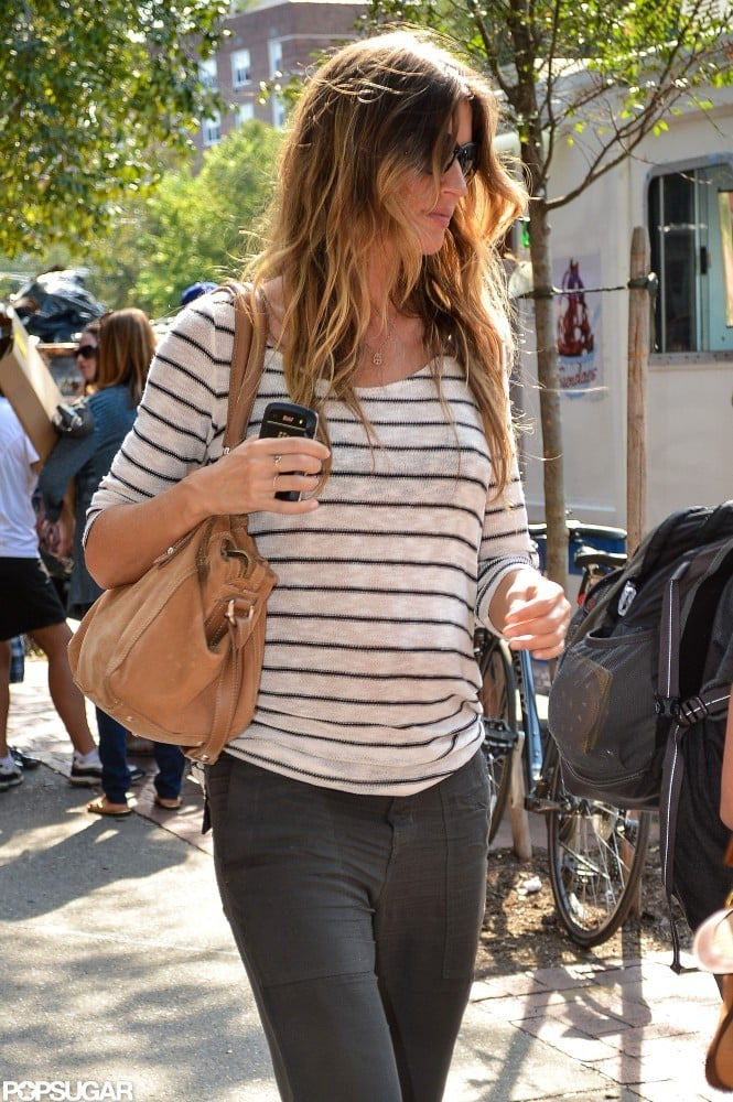 Gisele Bundchen Hits NYC as Tom Brady Hangs at Home With the Boys