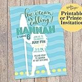 Moana Invitation