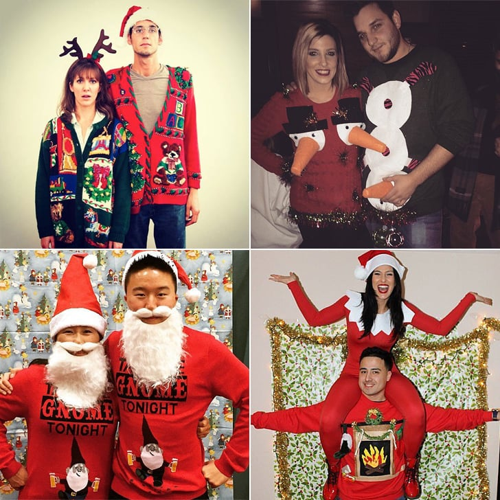 Ugly christmas sweater for couples