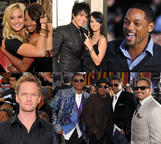 Photos of LA Red Carpet This Is It Premiere Paris Hilton, Will Smith, Ashley Tisdale, Michael Jackson's Brothers