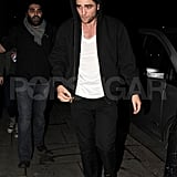 Robert Pattinson and Kristen Stewart's Late Night Out in London!
