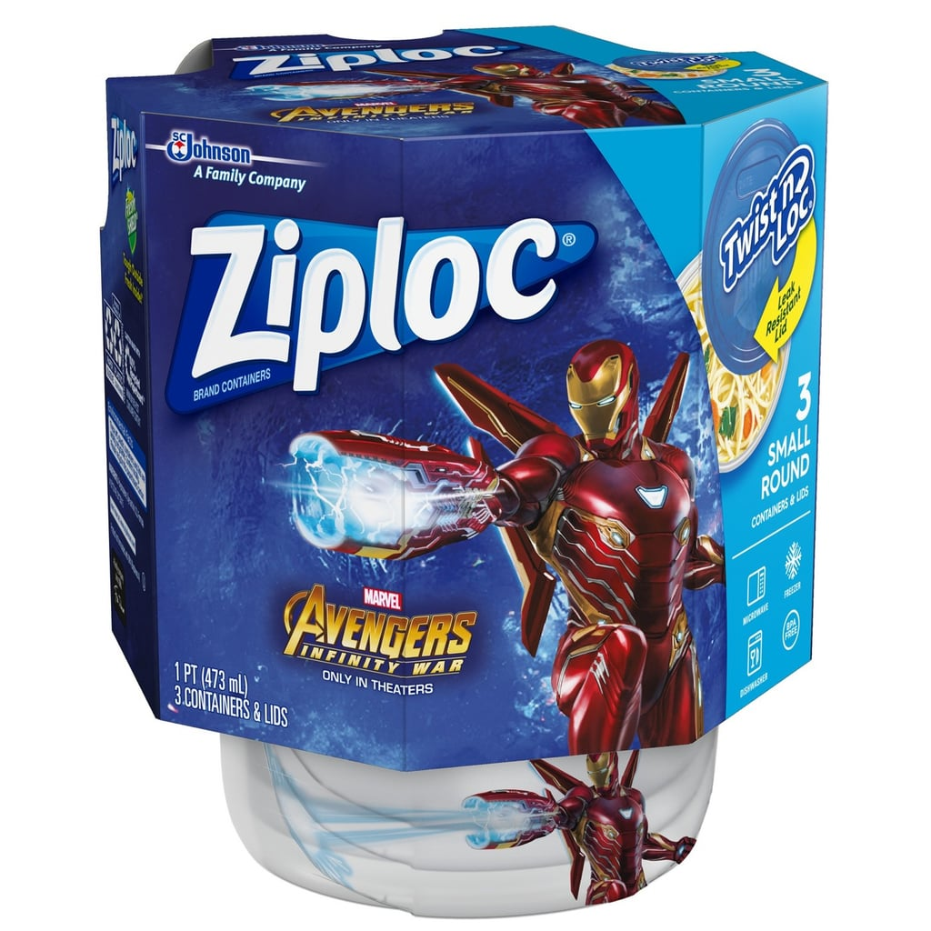 Ziploc Avengers Twist and Lock Food Storage Container Best Back to