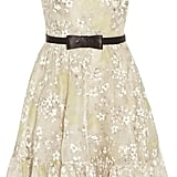 Valentino Floral Print Silk Organza Dress ($3,870)