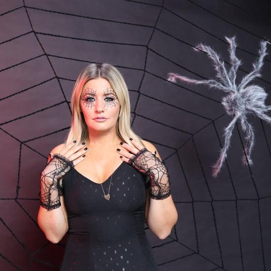 This Spiderweb Eye Makeup Tutorial Is So Creepy-Cool