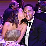 April: Chrissy Nuzzled Up to John at the Time 100 Gala