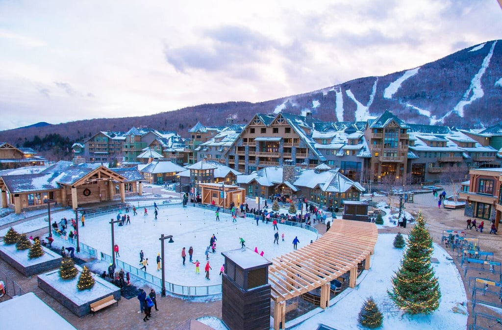 Snow, Ski, and Scrubs at Stowe Mountain Lodge