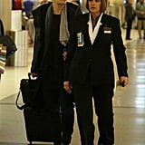 Orlando Bloom at the airport.