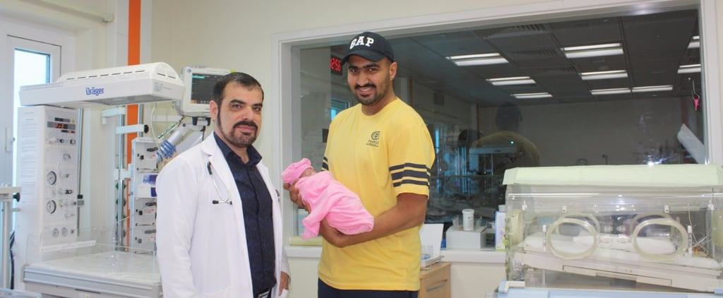 This Premature Baby Weighed Less Than a Bottle of Water But a UAE Hospital Is Helping Her Make Progress