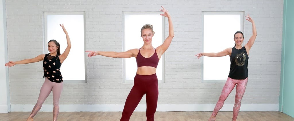 45-Minute No-Equipment Barre Workout