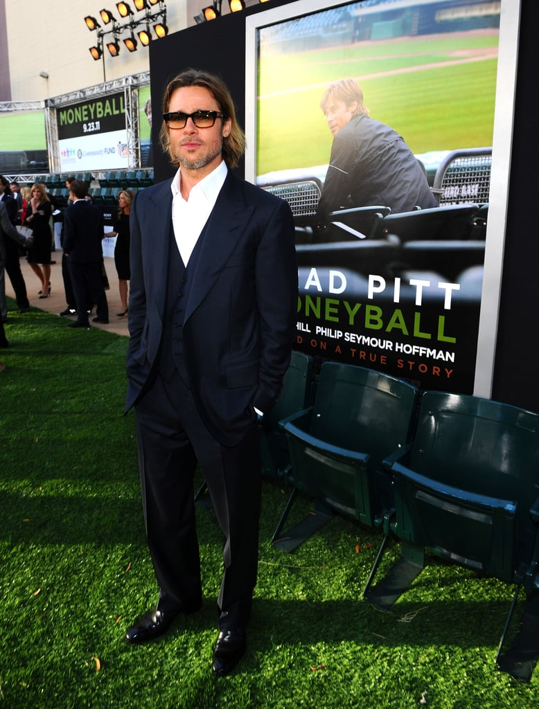 Photos of Brad Pitt at the Oakland Premiere of Moneyball