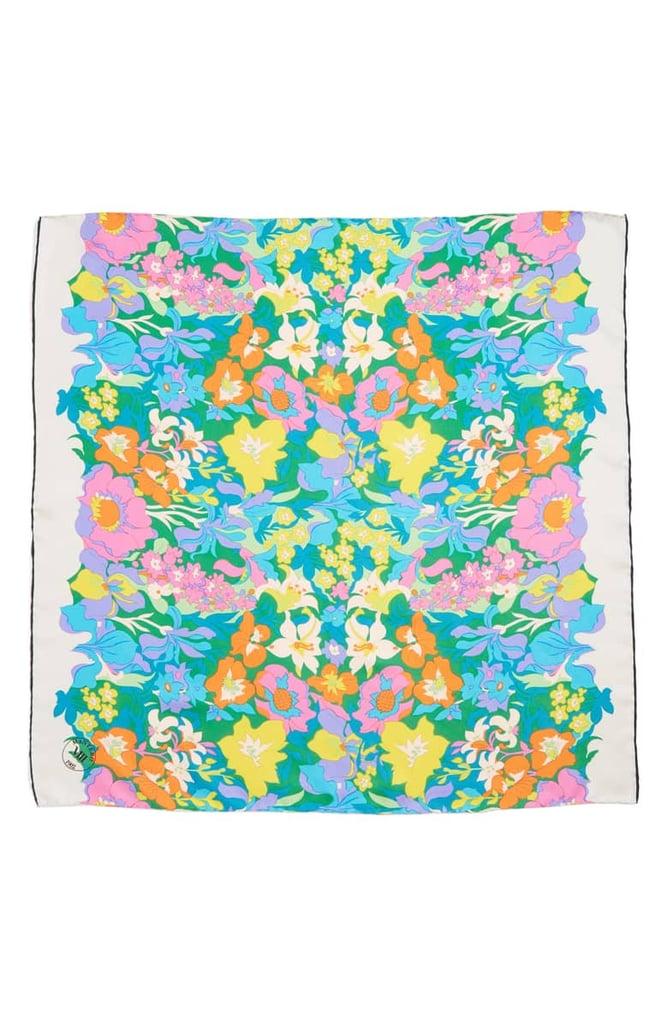 Mantero Twiggy Silk Scarf ($115)
