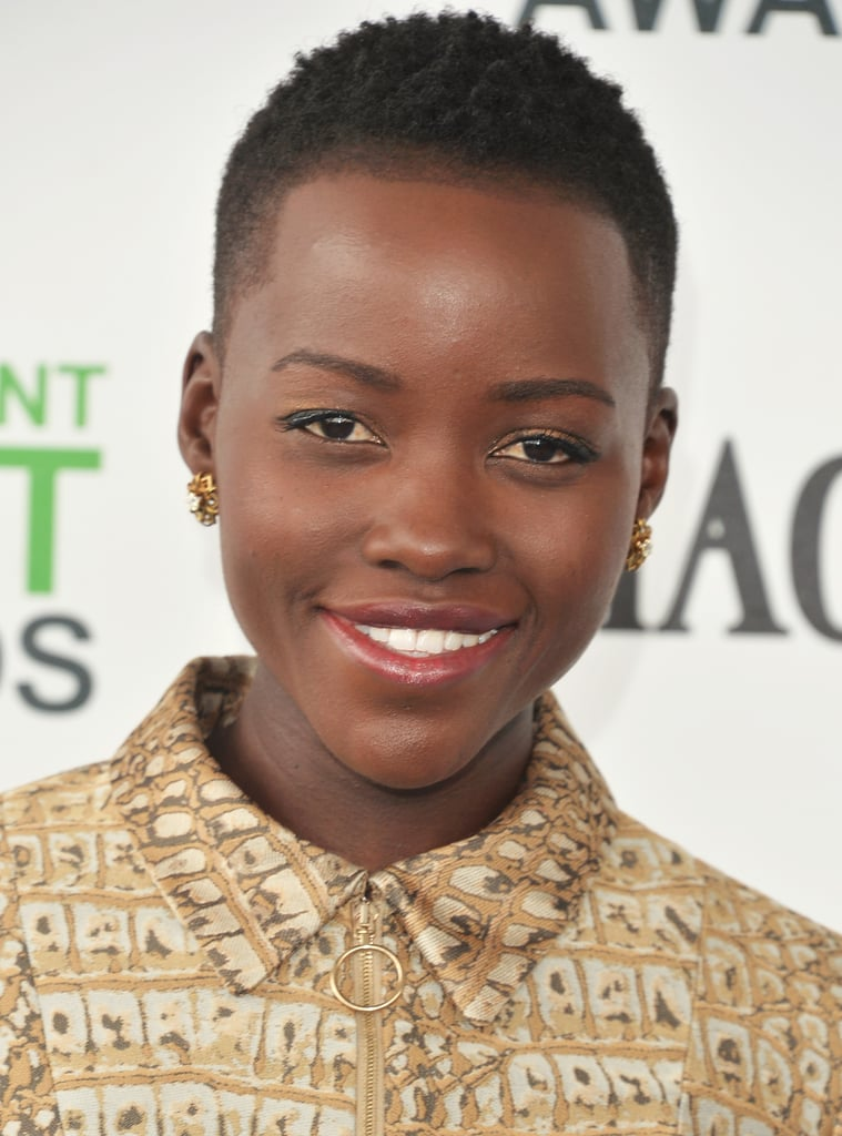Lupita Nyong'o Gets Big Hugs After Her Big Day
