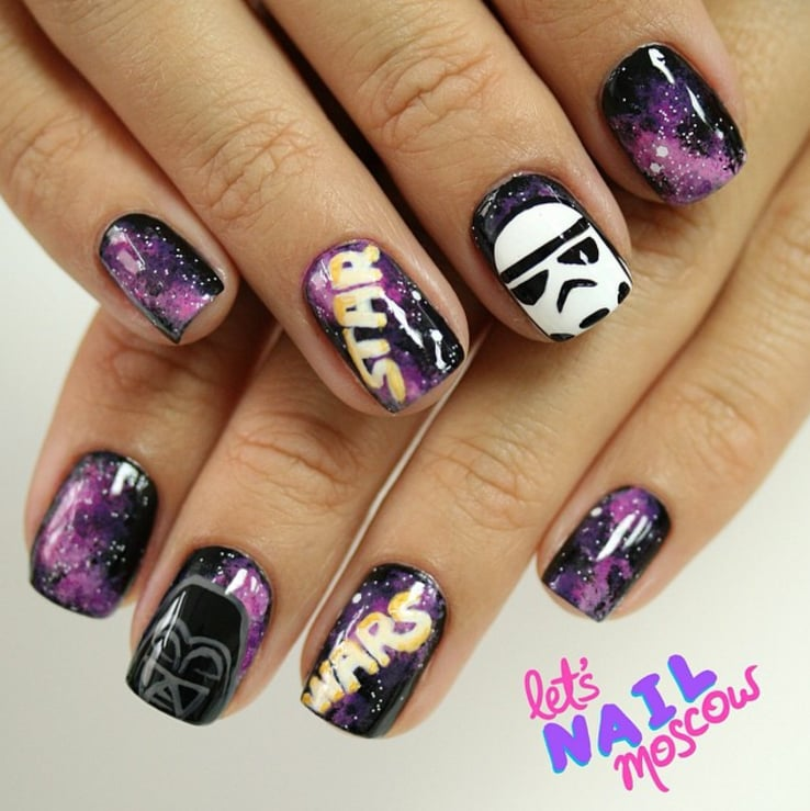Star Wars Nail Art - Star Wars Nail Art POPSUGAR Beauty Middle East Photo 36