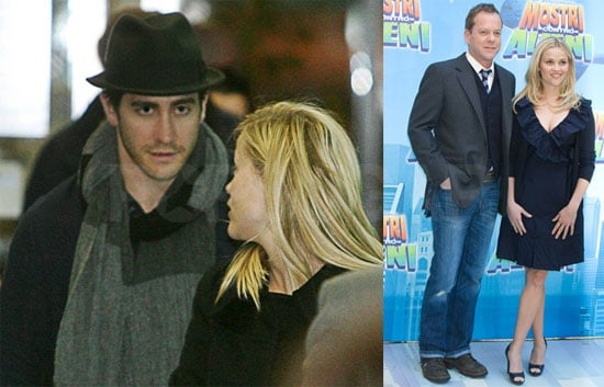 Photos of Jake Gyllenhaal and Reese Witherspoon in Rome