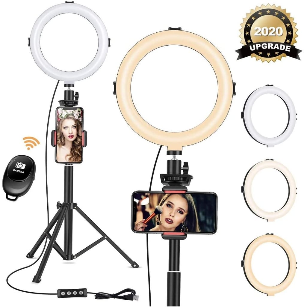 """8"""" Ring Light with Tripod Phone Stand"""