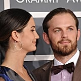 Caleb Followill and Lily Aldridge, 2012