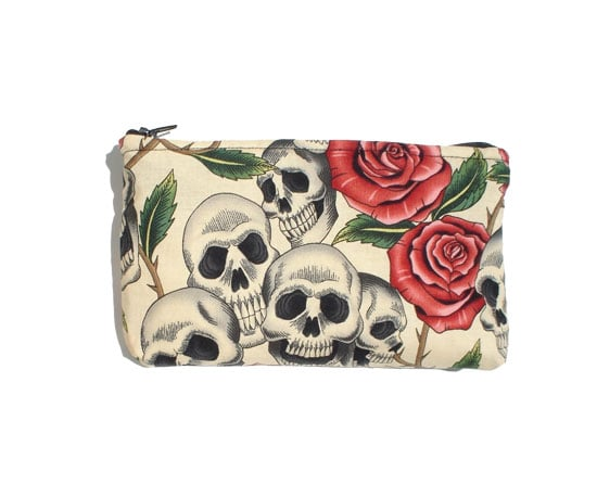Day of the Dead Makeup Bag