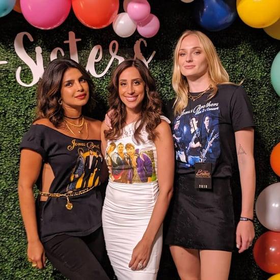 Priyanka Chopra's Jonas Brothers T-Shirt August 2019