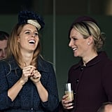 Princess Beatrice and Zara Tindall