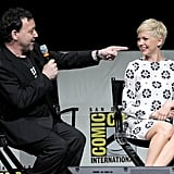 Michelle Williams spoke with Sam Raimi at a panel discussing Oz: The Great and Powerful at Comic-Con.