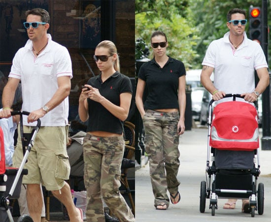 Pictures of Kevin Pietersen and Jessica Taylor and Dylan