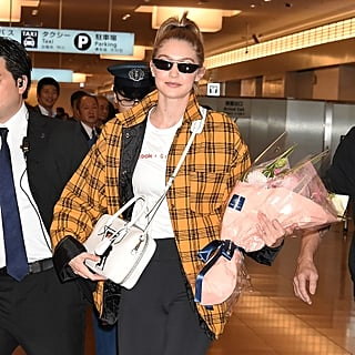 Gigi Hadid Storets Plaid Jacket November 2018