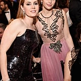 Pictured: Amy Adams and Felicity Jones