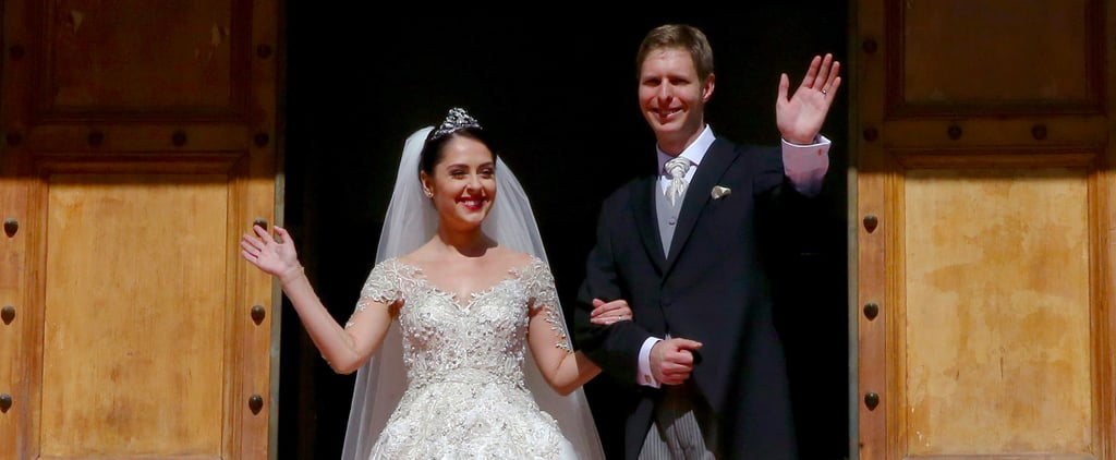 This Actress Became a Princess on Her Wedding Day, and Her Dress Is Straight Out of a Fairytale
