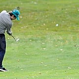 Zac Efron Hits the Links Ahead of His Very Lucky Premiere